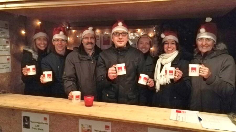 Weihnachtsmarkt Gundelfingen.Spd Ortsverband Gundelfingen 2016